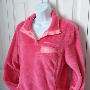 Free country pink fleece jacket coat winter